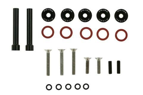 Śrubki Pokrywy Zaworów Honda Civic D-Seria JDM black - GRUBYGARAGE - Sklep Tuningowy